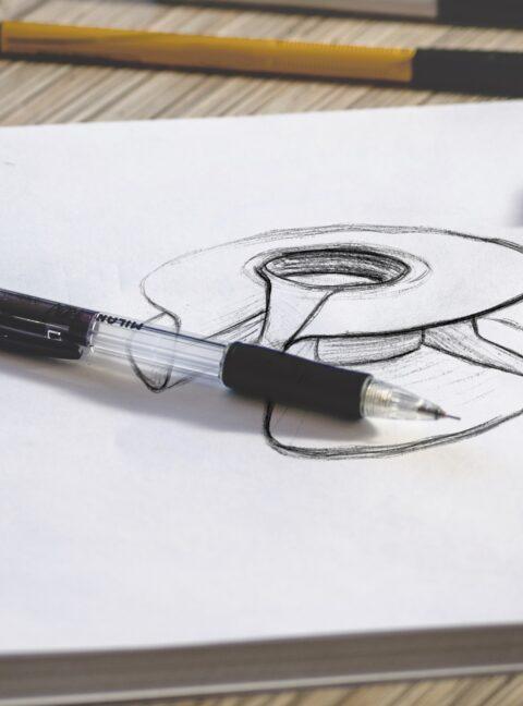 Logo Sketch Mockup 1